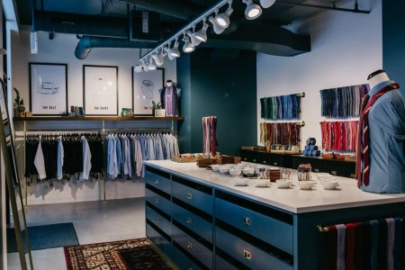 Inside The Tie Bar's Dapper New Downtown Store