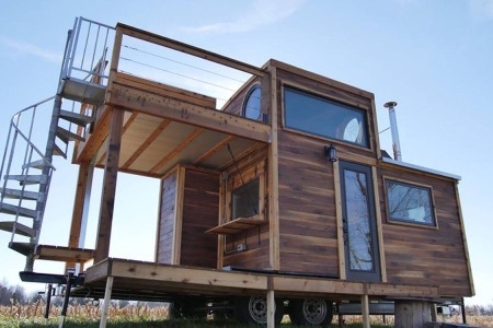 Just Your Average Tiny House Built Around an Heirloom Whiskey Still