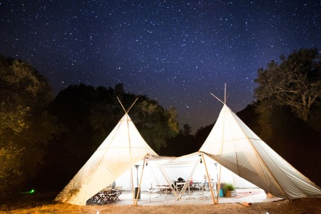 Forget the Man Cave. Let's Talk Man Tipi.