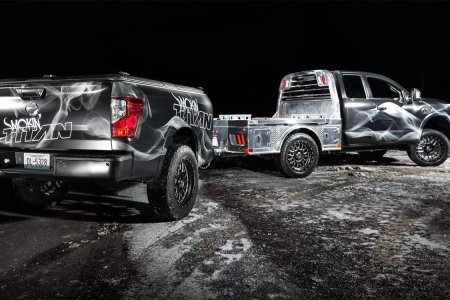 Nissan Built a BBQ-Equipped Truck for Meat Lovers, Because America