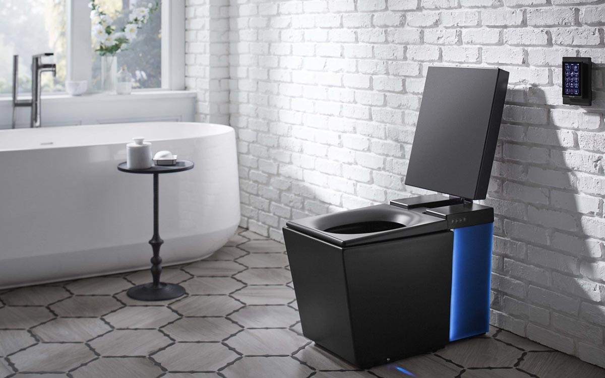 This $6k Toilet Streams Spotify and Warms Your Feet While You Go
