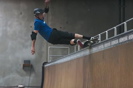 Watch Tony Hawk Celebrate His 50th Birthday With 50 Half-Pipe Tricks