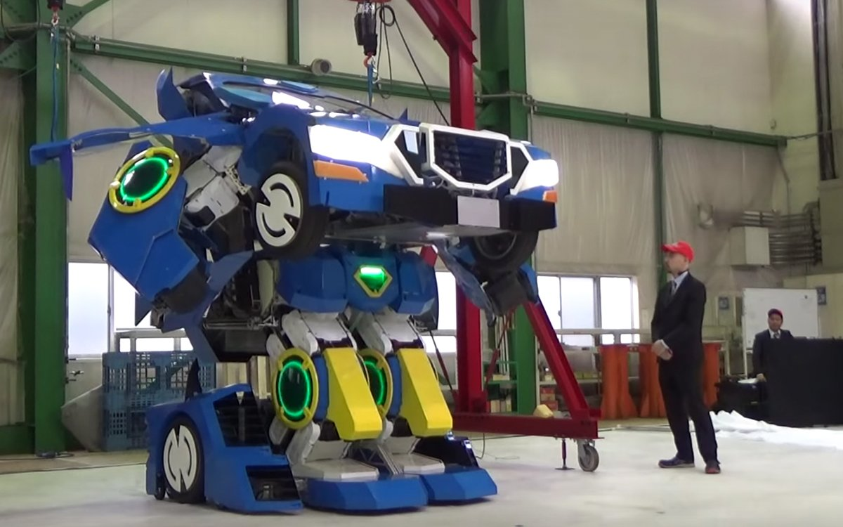 Japanese Robotics Company Making Real Life Transformers - InsideHook