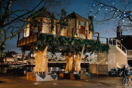 Safari in the the City in an Urban Treehouse