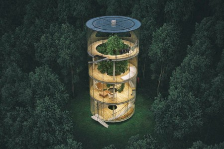 If a Glass Treehouse Falls in the Forest …