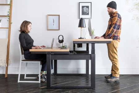 This Ingenious Two-Person Desk Will Make You Want to Work