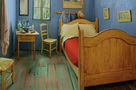 """Reproduction of Van Gogh's """"Bedroom"""" Is Real, Listed on Airbnb"""