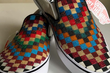 A Native American Artist Will Hand-Bead You a Pair of Custom Vans