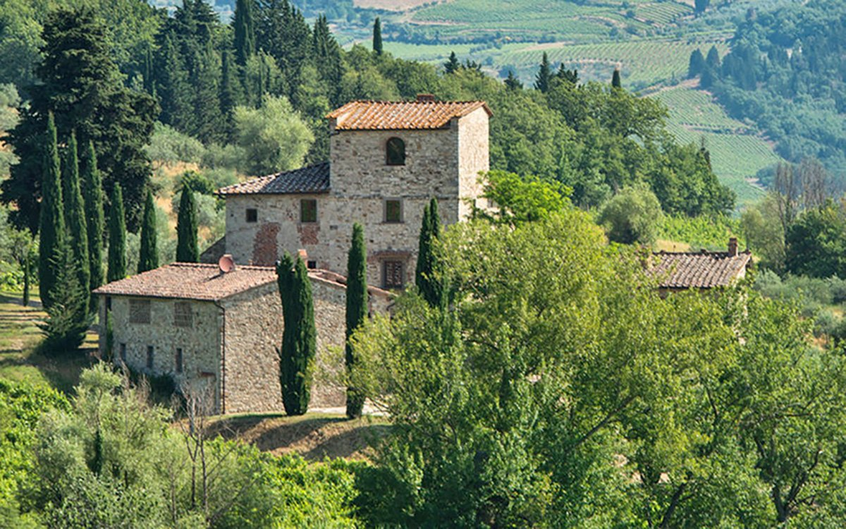 Hang Your Hat in Michelangelo's Tuscan Villa, Just Up for Sale