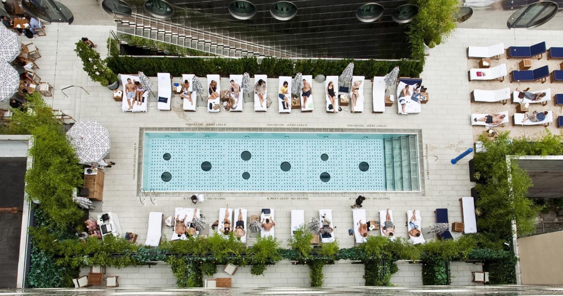 6 Swanky Hotel Pools Near NYC Worth the Overnight