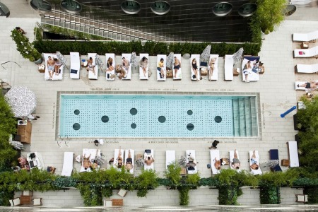 6 Swanky Hotel Pools Near NYC Worth the Overnight