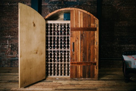 A Solution to the Classic 400 Wine Bottles/No Cellar Dilemma
