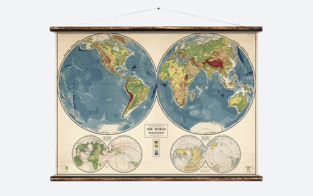 World in Hemispheres