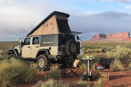 We See Your Jeep Wrangler and Raise You One With an Integrated Tent
