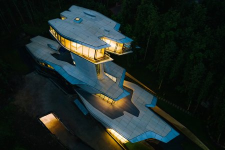 Zaha Hadid's Last (and Only) Private Home Was Built for the 'Russian James Bond'