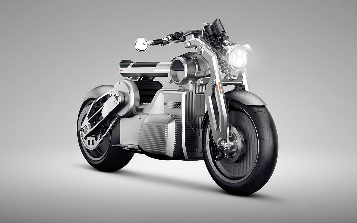 Curtiss Motorcycles' First E-Bike Is a Hot Rod From the Future