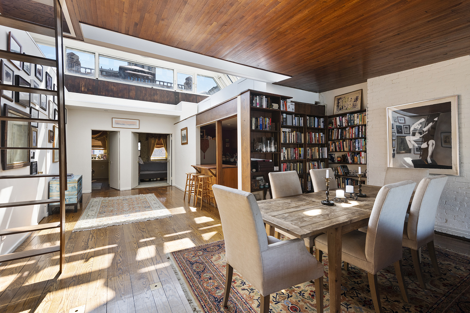 Norman Mailer's nautically-themed Brooklyn townhouse (CORE)