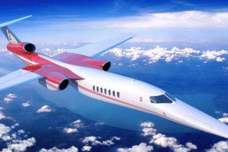Visual mock-up of planned Aerion AS2 (Photo credit: Aerion)