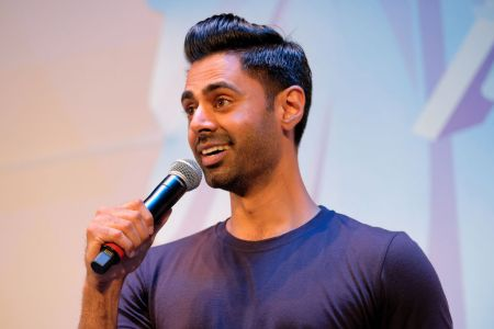 Comedian Hasan Minhaj made a point about double standards.  (Getty Images for Ozy Media)