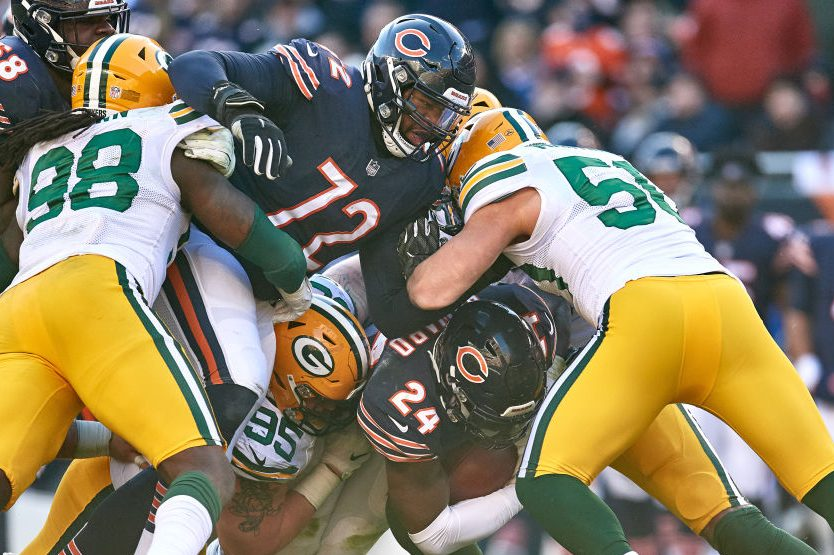The Packers will play the Bears to start the season. (Photo by Robin Alam/Icon Sportswire via Getty Images)
