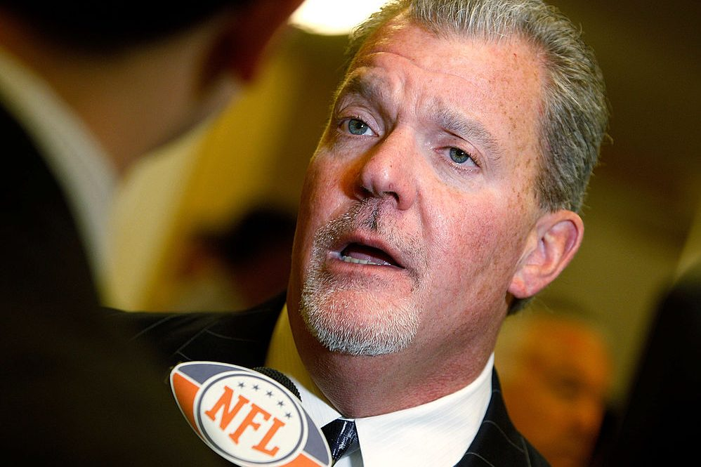 Indianapolis Colts NFL owner Jim Irsay. (Photo by Sean Gardner/Getty Images)
