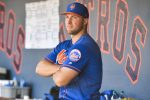 Tim Tebow of the New York Mets. (Photo by Mark Brown/Getty Images)