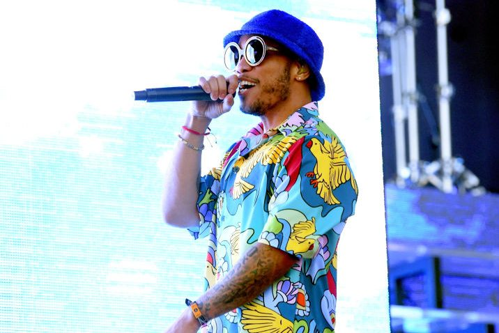 Anderson .Paak performs at Coachella. (Photo by Kevin Winter/Getty Images for Coachella)
