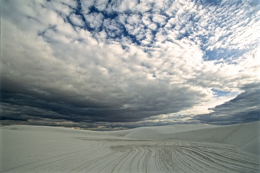White Sands National Monument. (GettyImages)