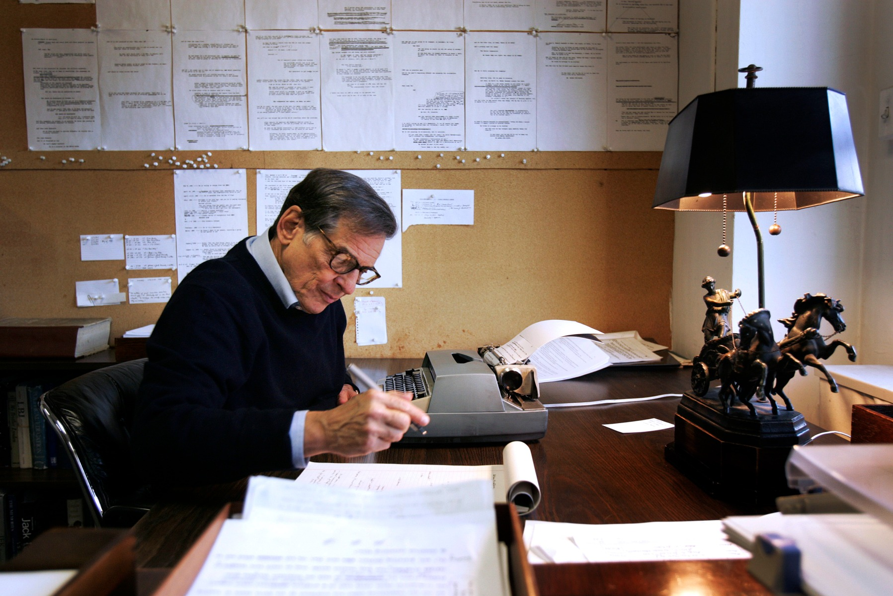 "Robert Caro explains his writing process in ""Working."""