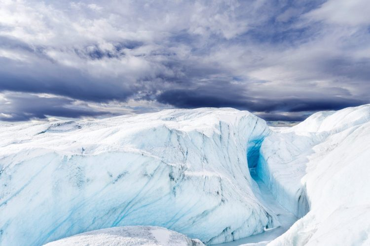 Landscape of the Greenland Ice Sheet