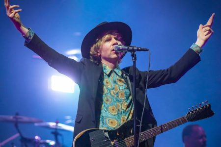 Beck performs at RBC Bluesfest in 2018 in Canada. (Photo by Mark Horton/Getty Images)