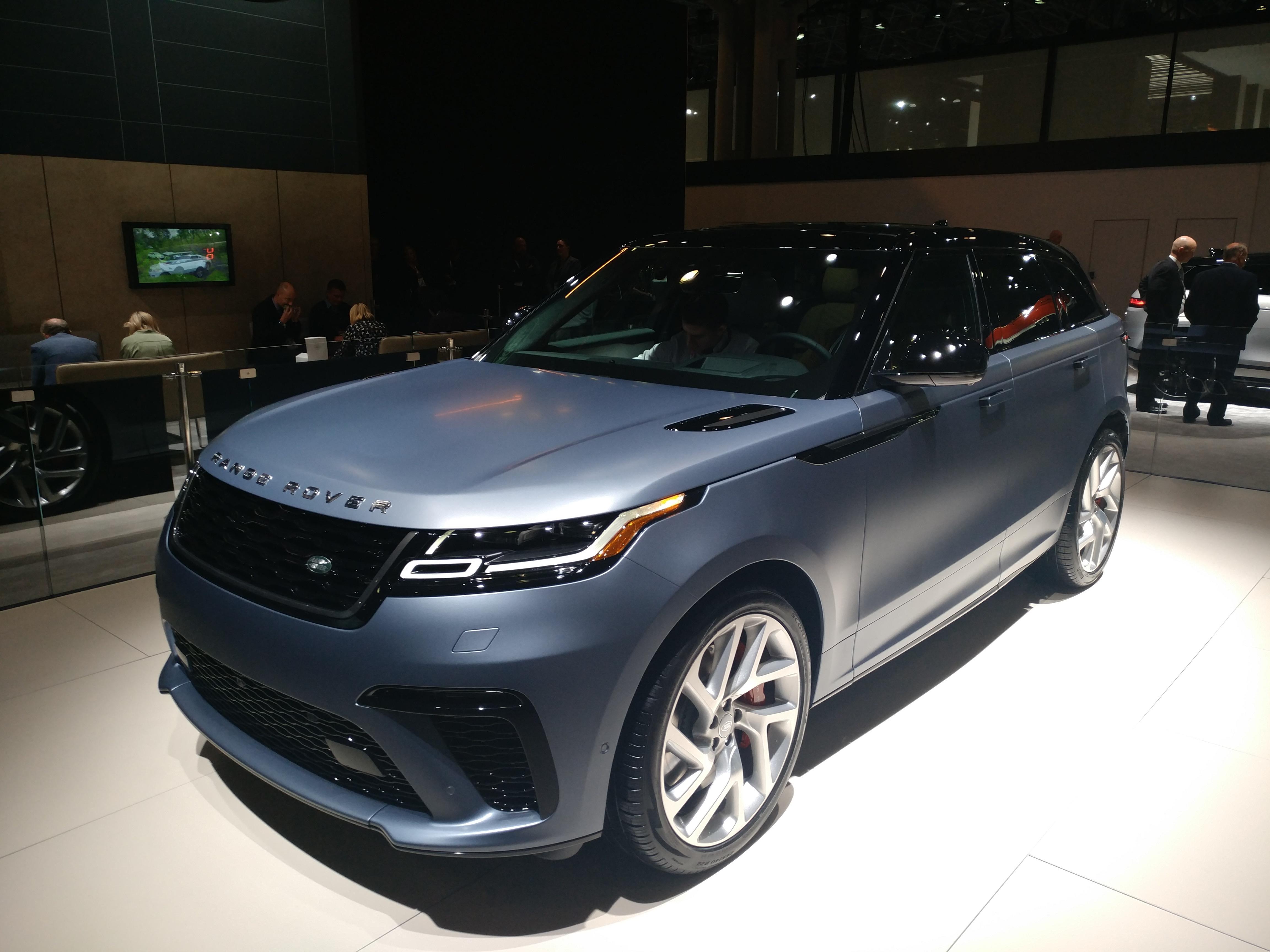 Range Rover Velar (Evan Bleier/InsideHook)