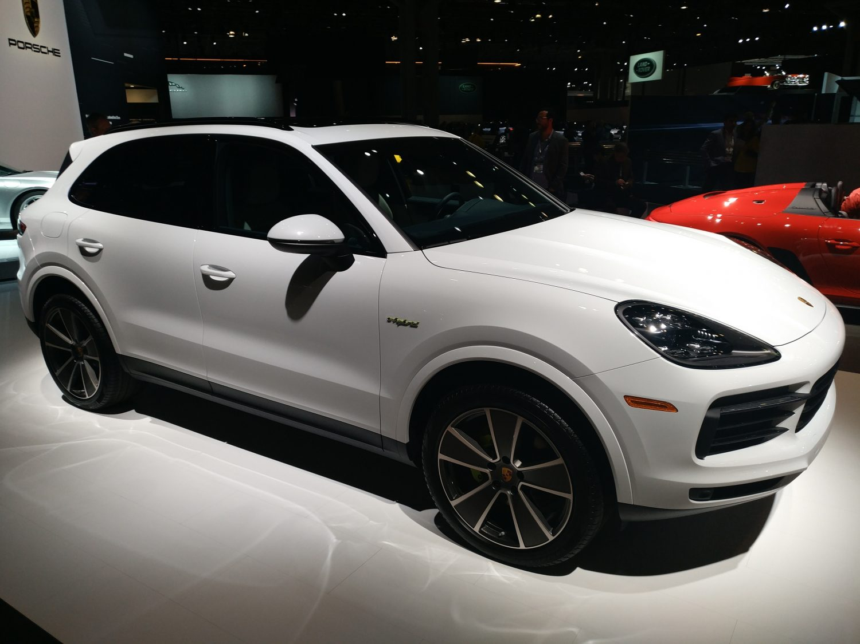 Porsche E-Hybrid (Evan Bleier/InsideHook)