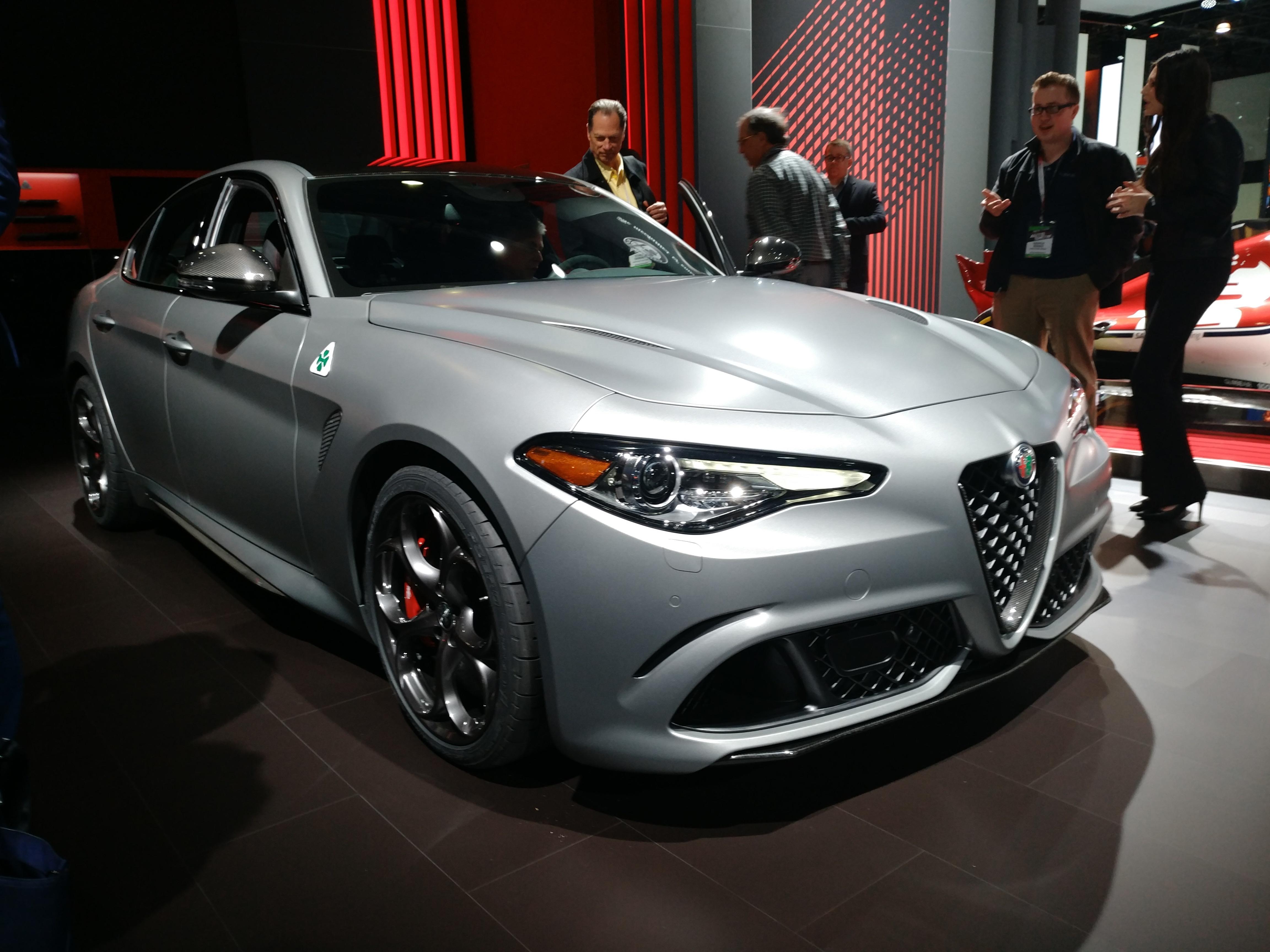 Alfa Romeo Giulia (Evan Bleier/InsideHook)