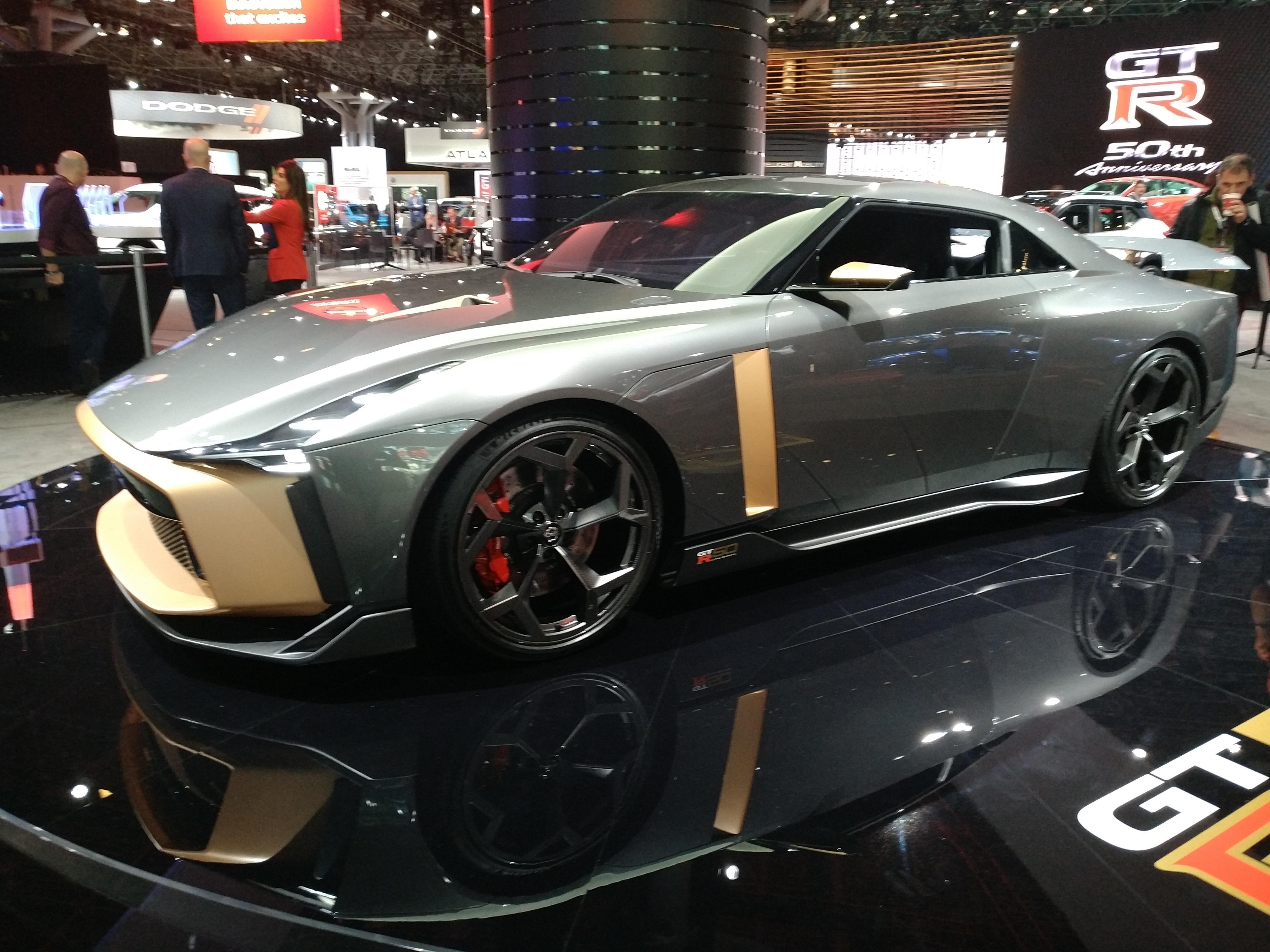 Nissan GTR SE (Evan Bleier/InsideHook)