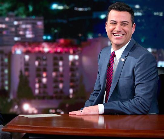 File photo, Jimmy Kimmel, 2015 (Photo credit: Pete Souza)