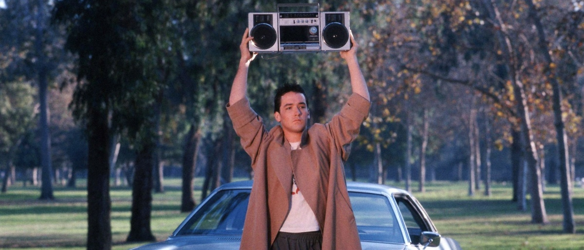 John Cusack redefined the male movie star starting with the film Say Anything...  (Photo via Gracie Films)