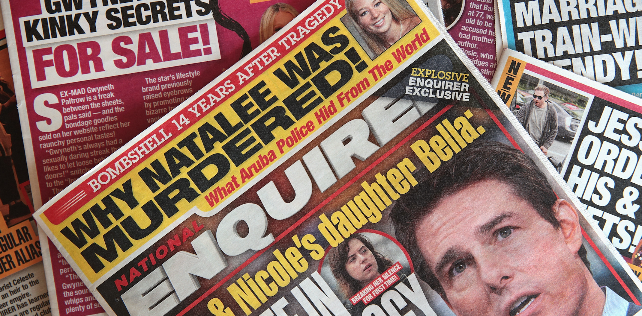 National Enquirer Sold for $100M to James Cohen, CEO of Hudson News