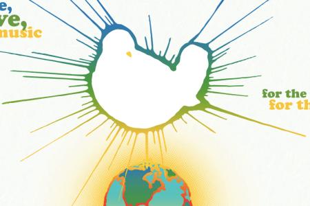 Logo of the Woodstock 50 concert (Screengrab: Woodstock 50)