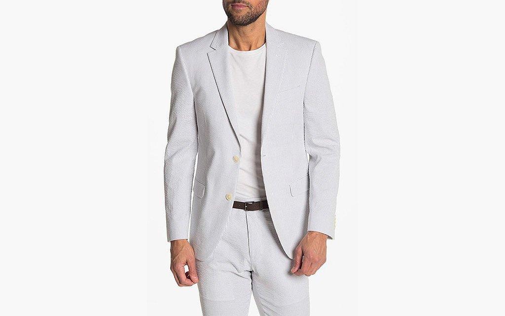 Tommy Hilfiger seersucker suit
