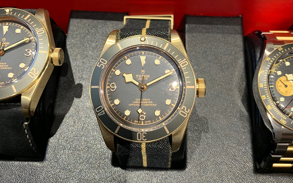 Tudor Black Bay Bronze Baselworld