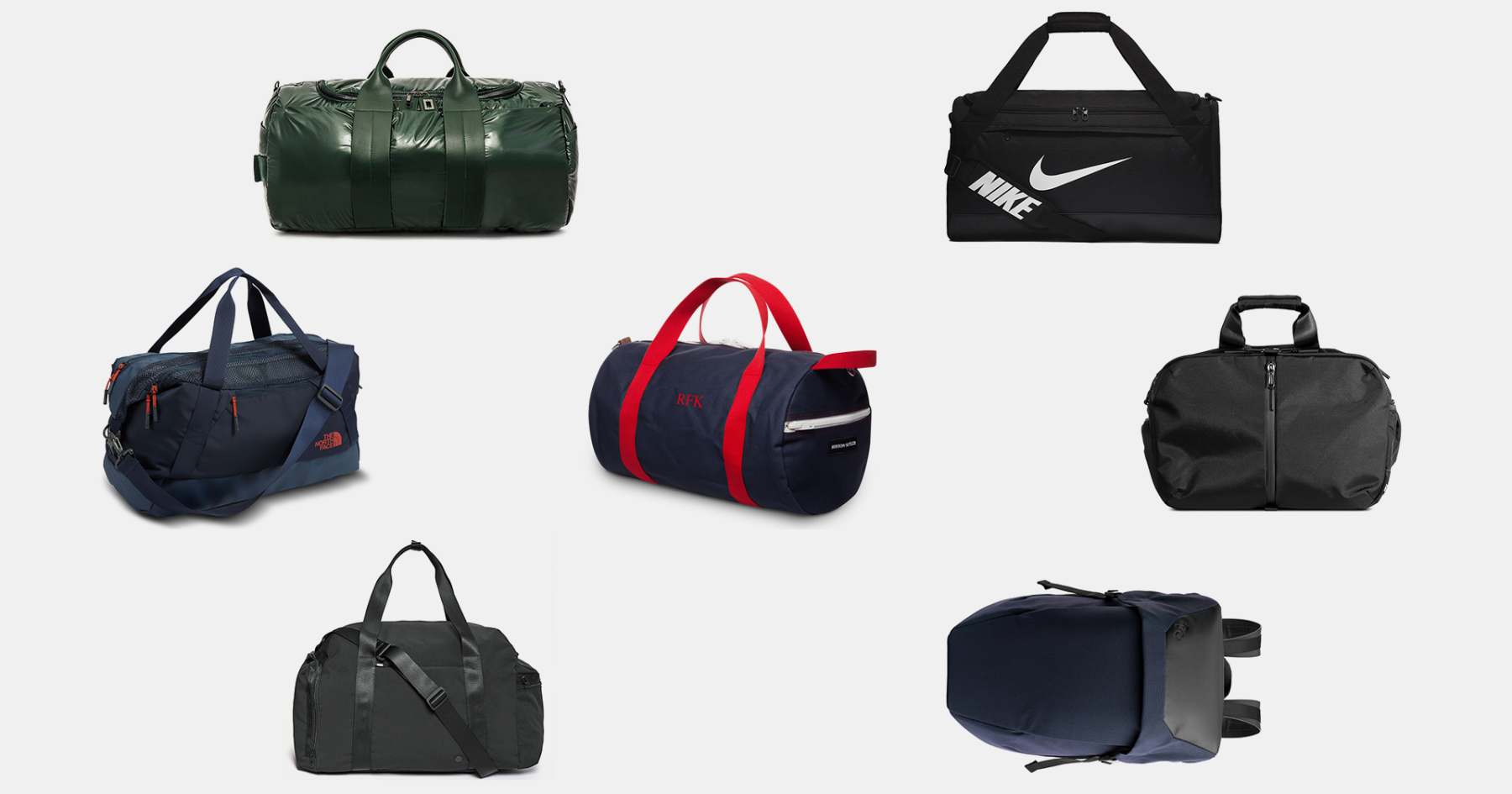 021598f5a0 The Perfect Gym Bag for Every Type of Gym-Goer