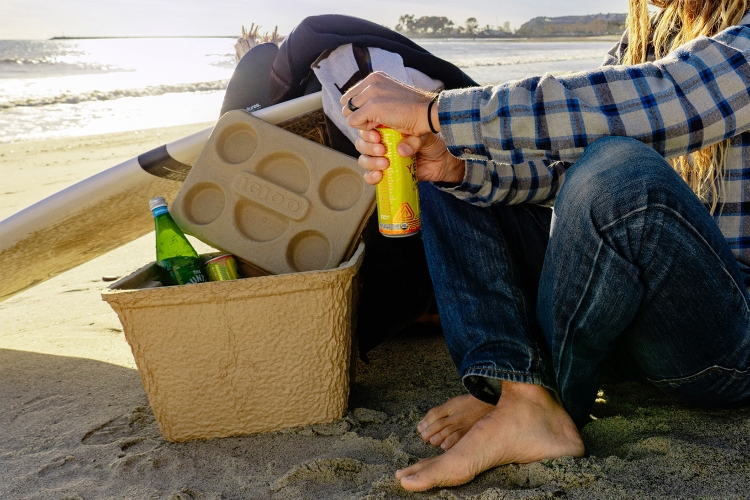 Recool is a biodegradable, affordable replacement for Styrofoam coolers.