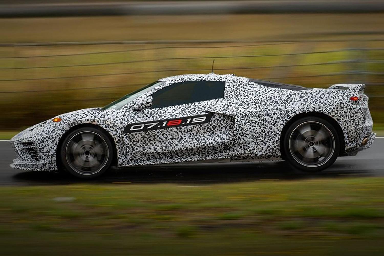General Motors finally confirmed the 2020 C8 Corvette. (Chevrolet)