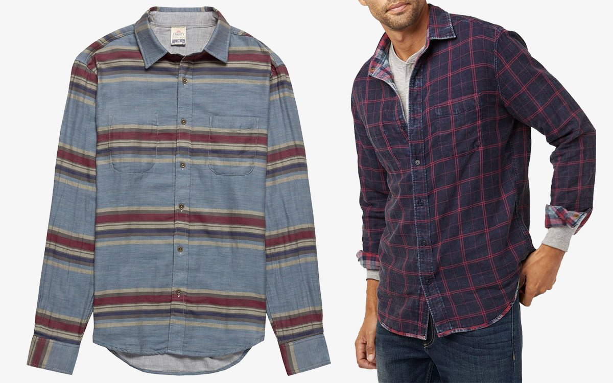Faherty's Perfect Summer Shirts Are on Sale