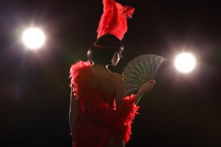 Sexy Burlesque Cabaret. C'mere.