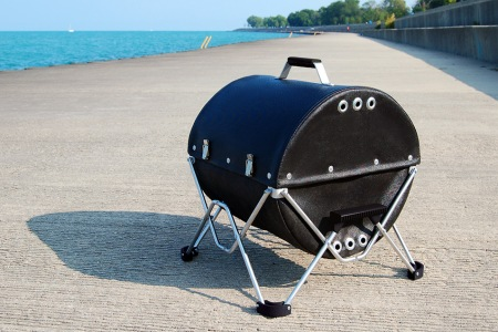 This Grill Is Also … A Duffel Bag?