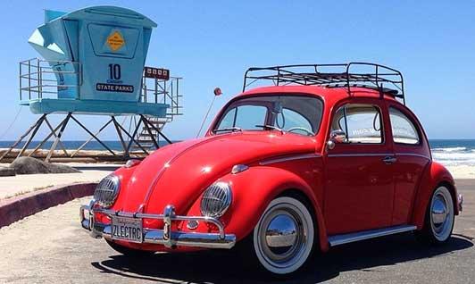 Vintage Cars. Electric Motors. Hop In.