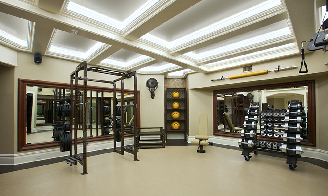 Lift Luxury Home Gym Design