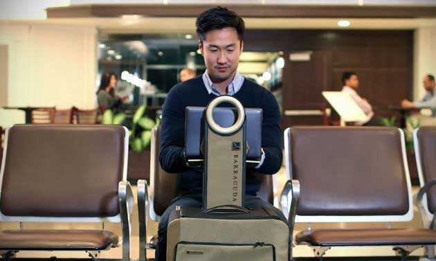 Meet the World's Smartest Piece of Luggage.